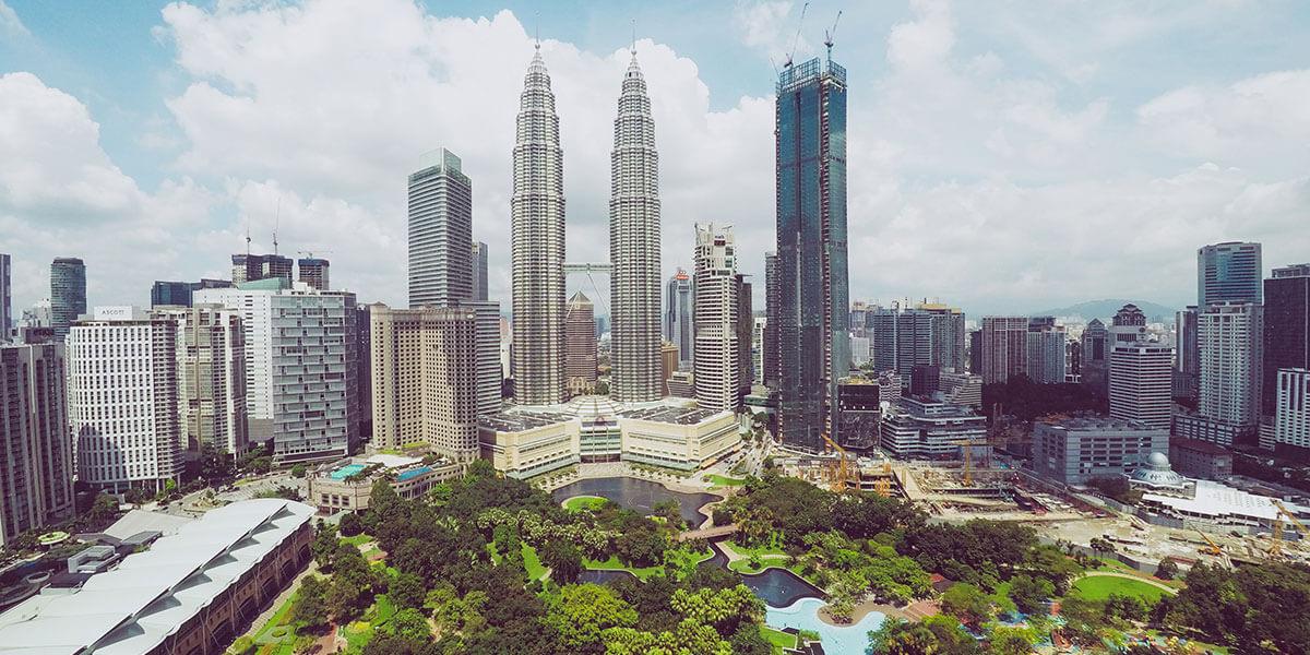 ノービザで90日間滞在できる国|マレーシア